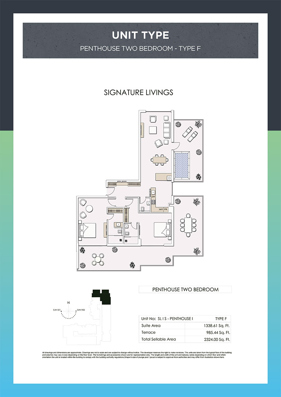 Signature Livings by Green Group - Floor Plan